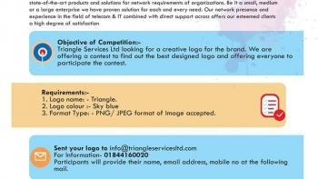 Logo Design Competition with Triangle
